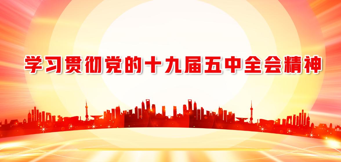 【专题】学习贯彻党的十九届五中全会精神